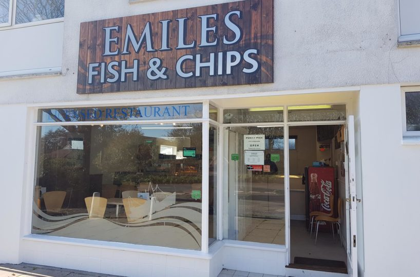 Freehold Fish & Chip Takeaway/Restaurant Located In Looe