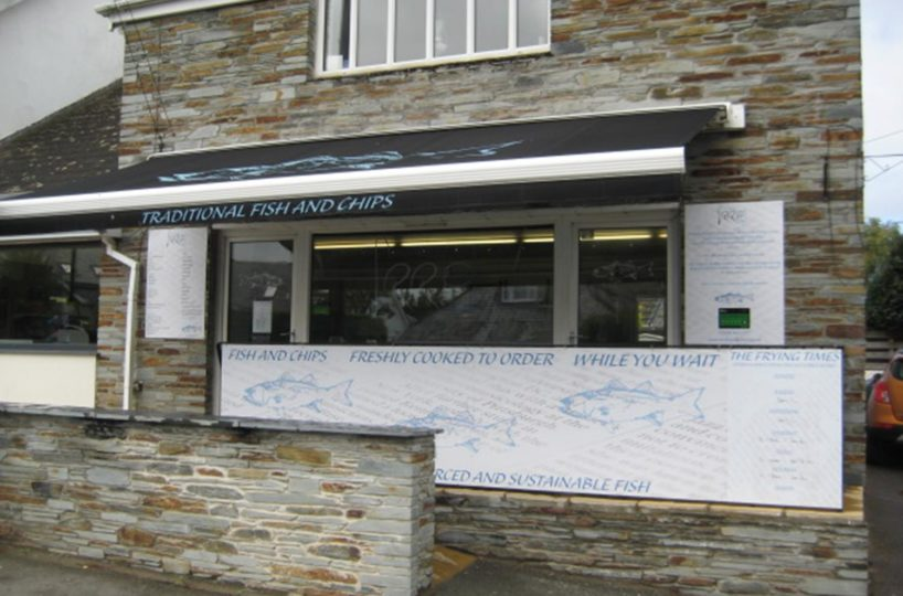 Leasehold Fish and Chip Takeaway Located In Rock