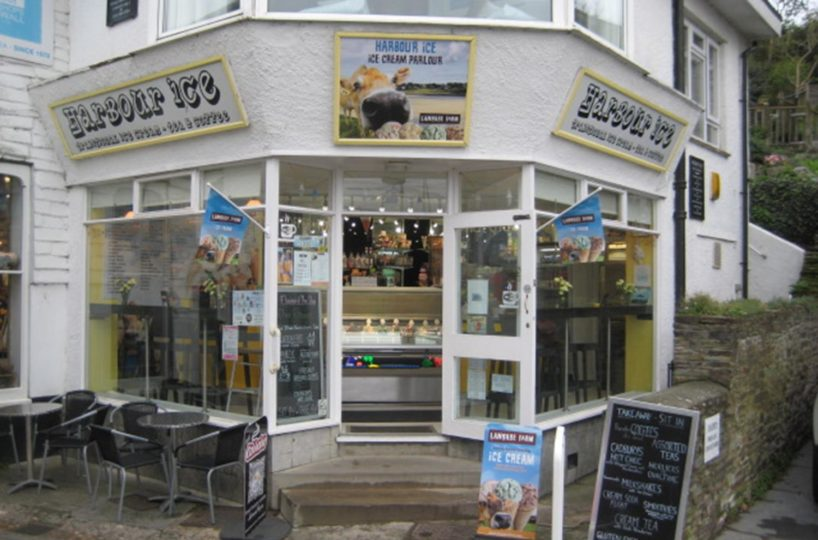 Leasehold Ice Cream Parlour Located In Padstow