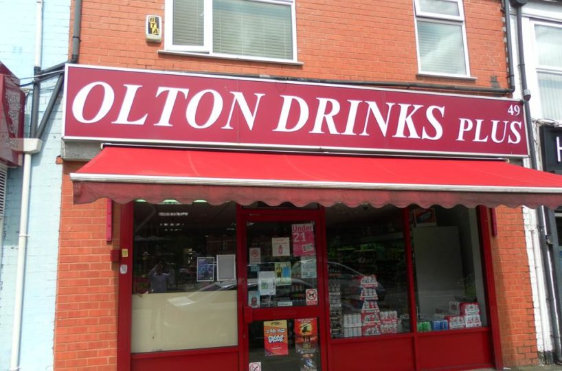 Freehold Off-Licence In Olton, Solihull