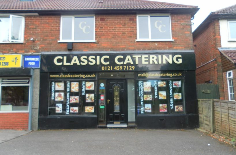 Freehold Outside Catering Company Located In Kings Norton