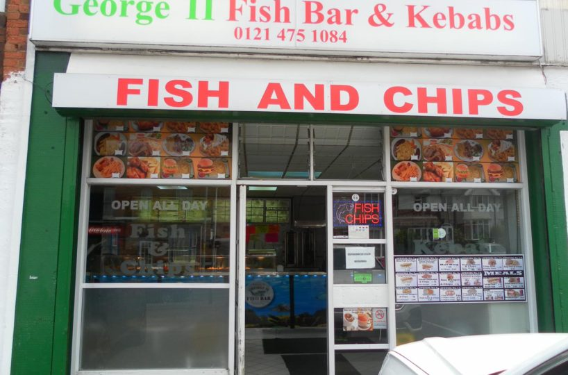 Leasehold Fish and Chip Takeaway Located In West Heath