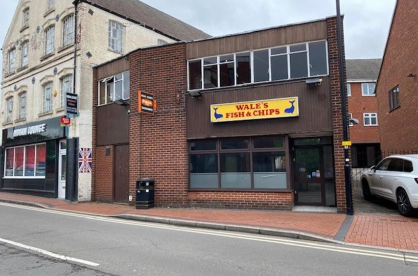 Freehold Commercial Property Located In Nuneaton Town Centre