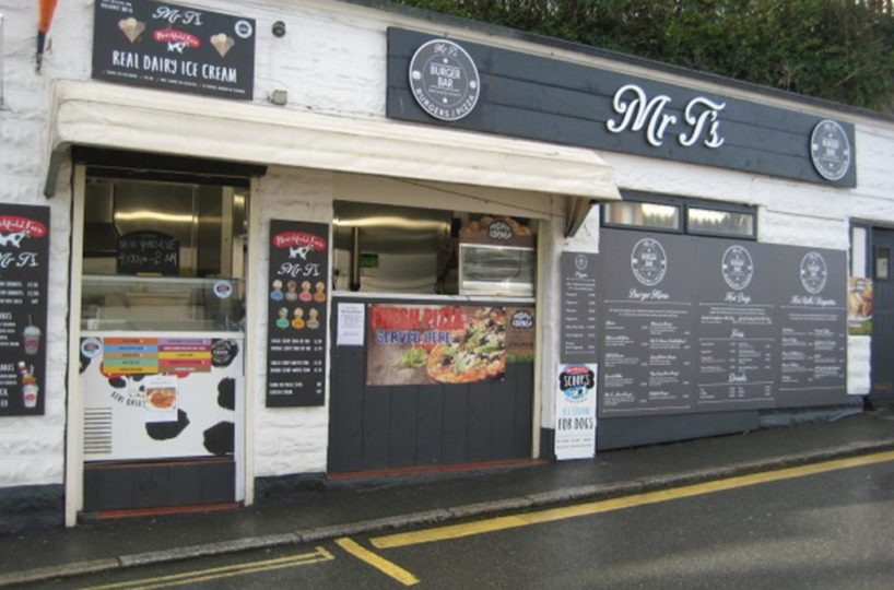 Burger and Pizza Takeaway Located In Mevagissey