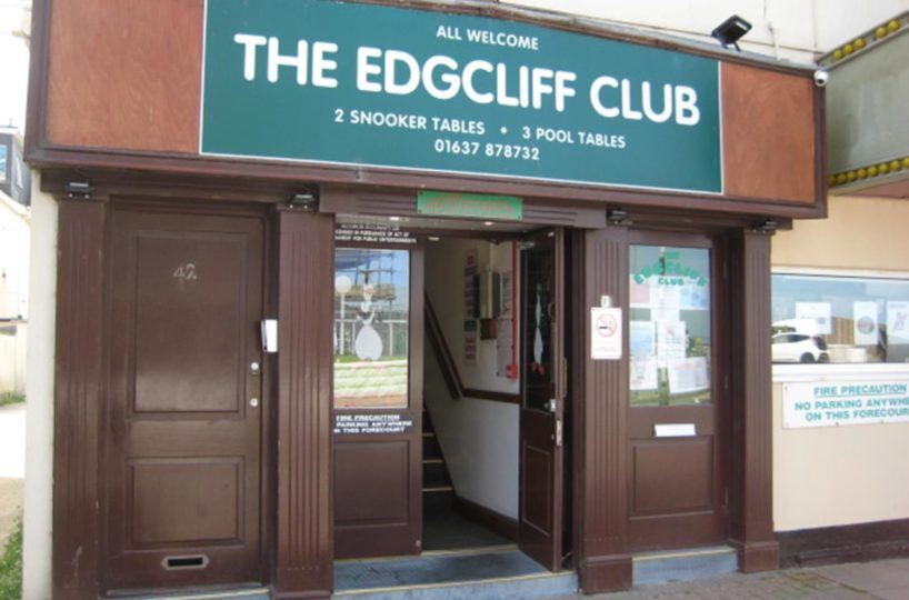 Leasehold Snooker and Social Club Located In Newquay