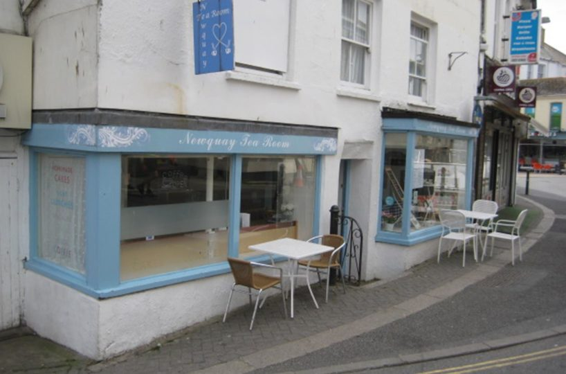 Leasehold Tea Rooms and Cafe Located In Newquay