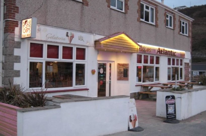 Licensed Fish and Chip Restaurant/Takaway and Cafe Located In Portreath