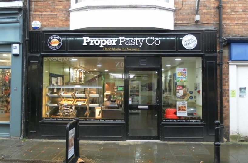 Leasehold Pasty and Sandwich Bar Takeaway Located In Evesham
