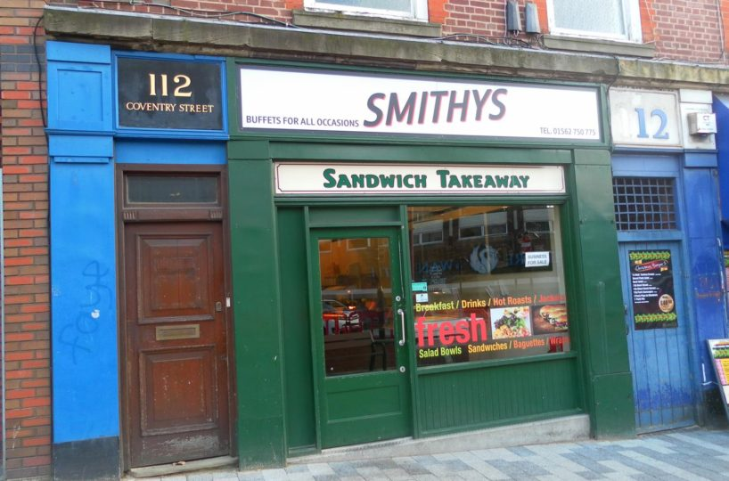 Leasehold Sandwich Bar Located In Kidderminster