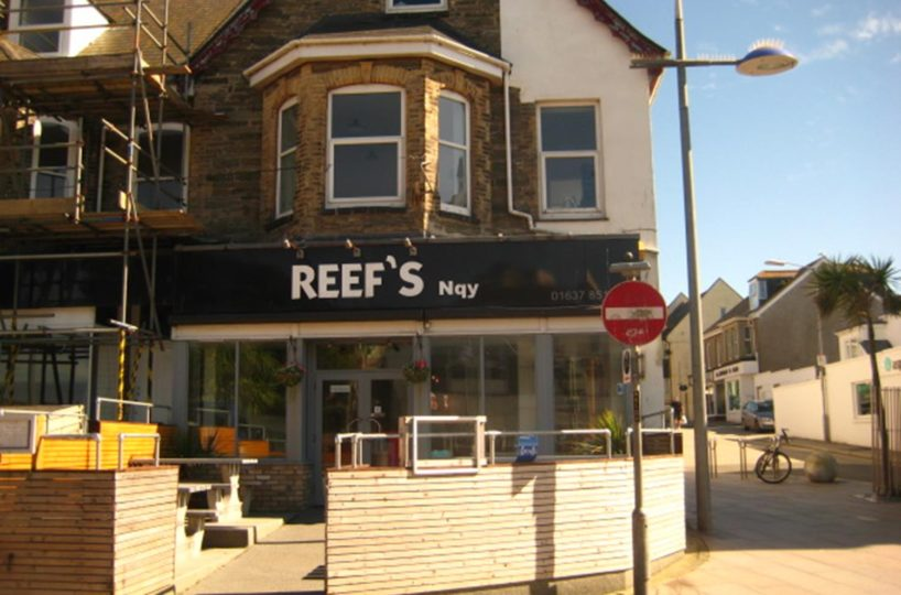 Leasehold Cafe Located In Newquay Town Centre