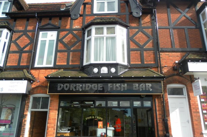 Leasehold Fish and Chip Takeaway Located In Dorridge