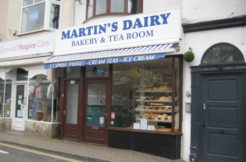 Leasehold Bakery & Tea Rooms Located In East Looe