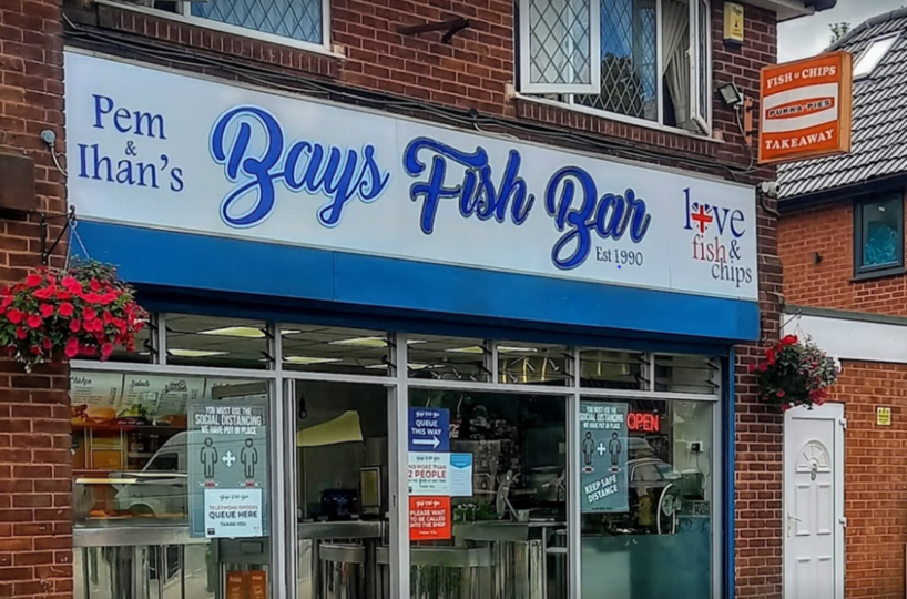 Freehold Fish & Chip Takeaway Located In Great Barr