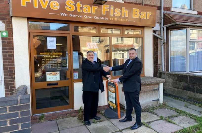 Leasehold Traditional Fish and Chip Takeaway Located In Nuneaton