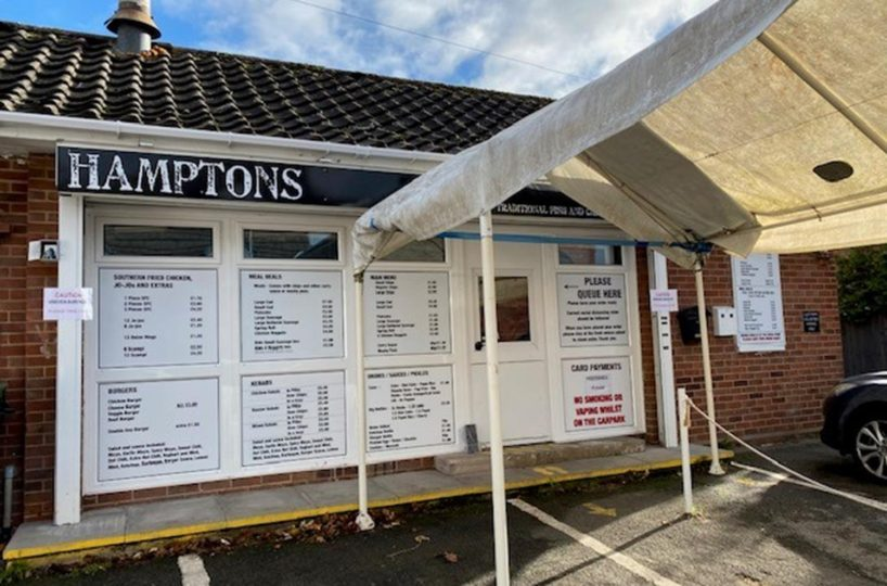 Leasehold Traditional Fish & Chip Takeaway Located In Evesham