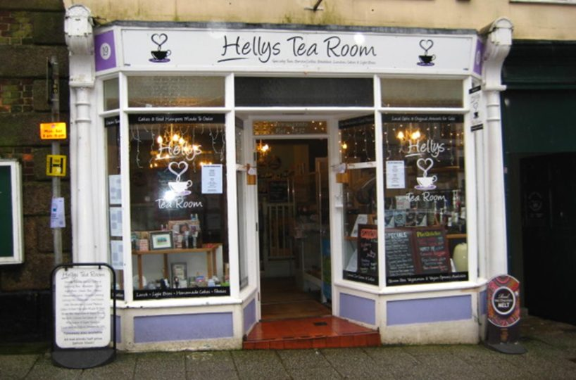 Leasehold Tea Rooms & Cafe Located In Helston