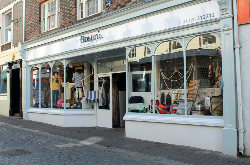Yacht Chandlery & Outdoor Leisure Clothing Retailer Located In Falmouth
