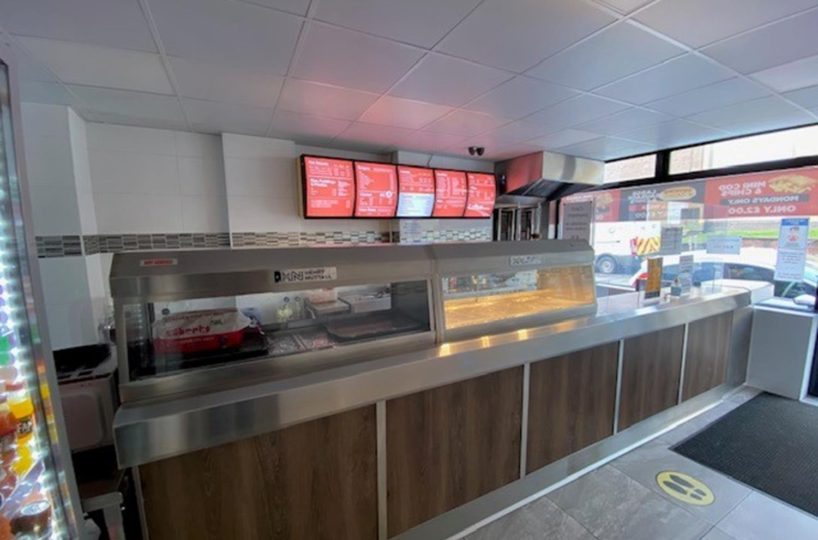 Leasehold Fish & Chip Takeaway Located In Stoke On Trent