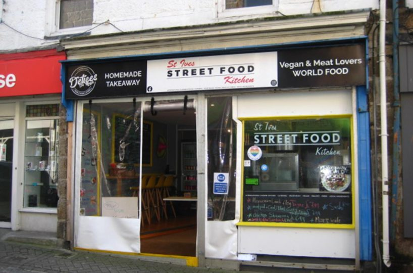 Leasehold Street Food Takeaway & Cafe Located In St Ives