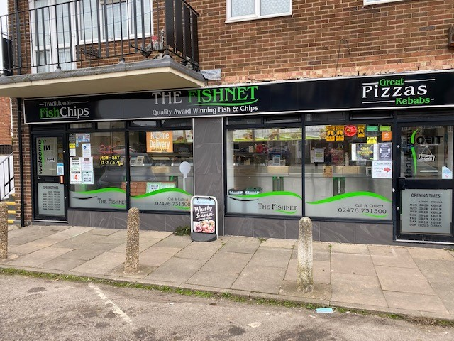Leasehold Fish & Chip Takeaway Located In Bulkington