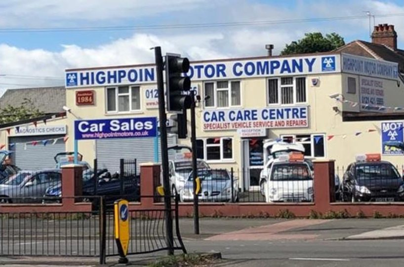 Freehold Garage Services/MOT Bay & Car Sales Business Located In Oldbury