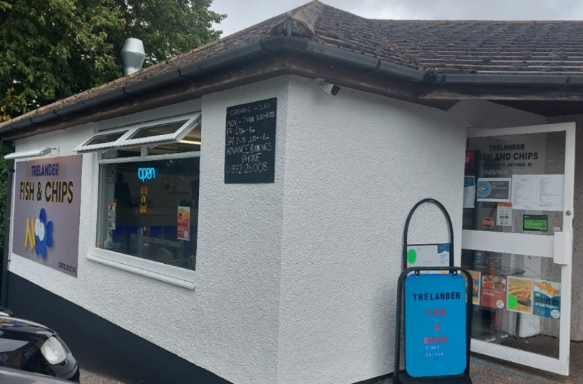 Leasehold Fish & Chip Takeaway Located In Truro