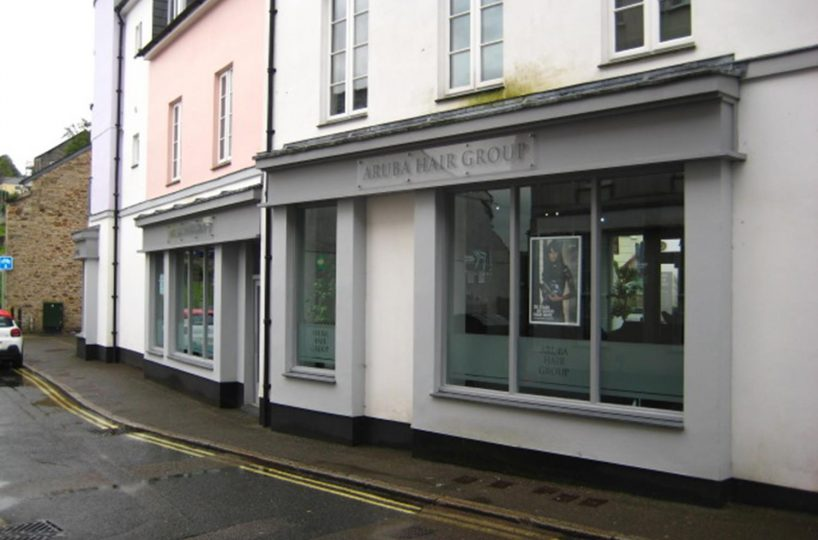 Freehold Investment Property/Hair Salon Located In Bodmin