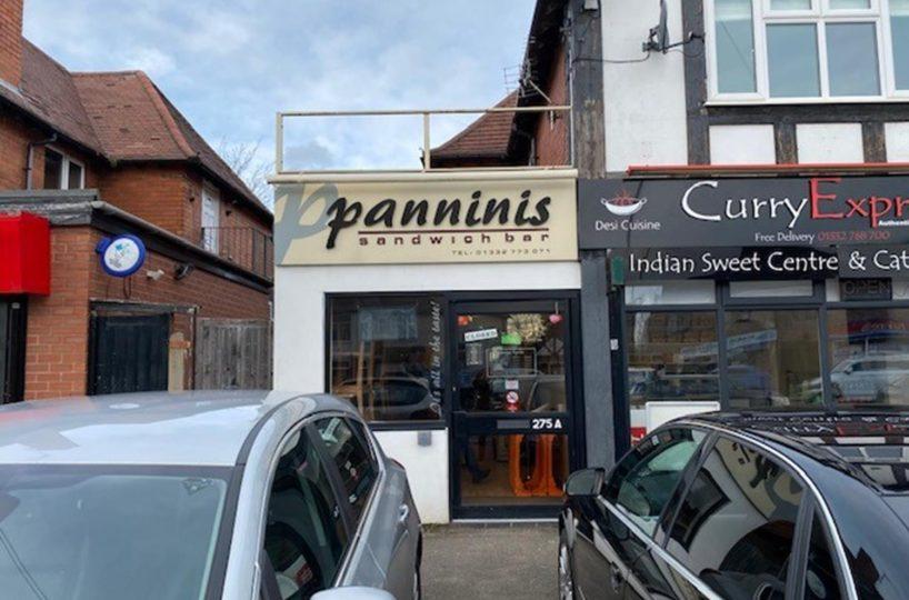 Sandwich Bar Takeaway Located In Derby