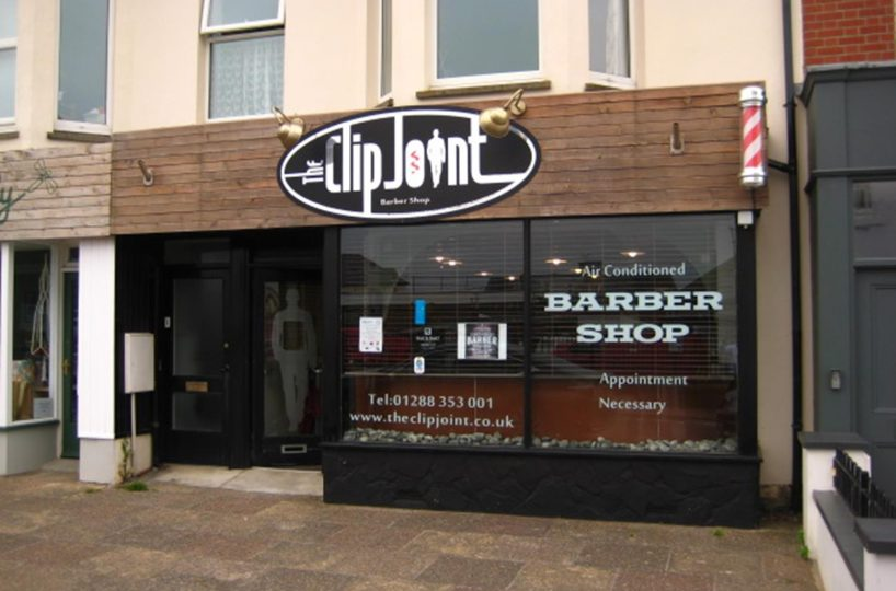 Leasehold Barbers & Ladies Hair Salon Located In Bude