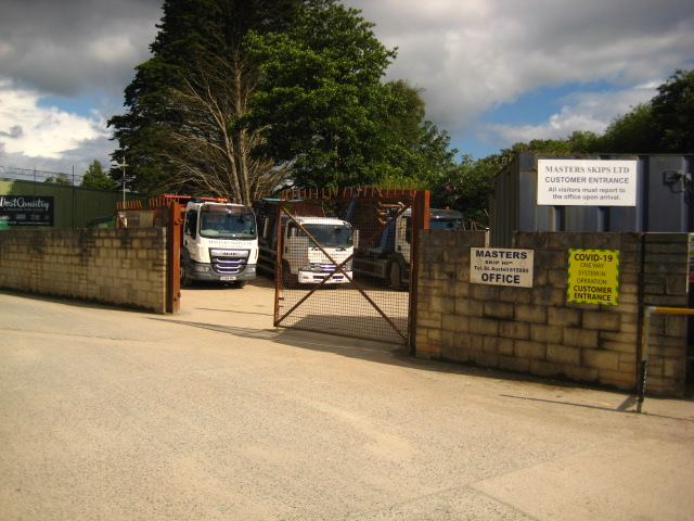 Freehold Waste Management & Skip Hire Business Located In St Austell