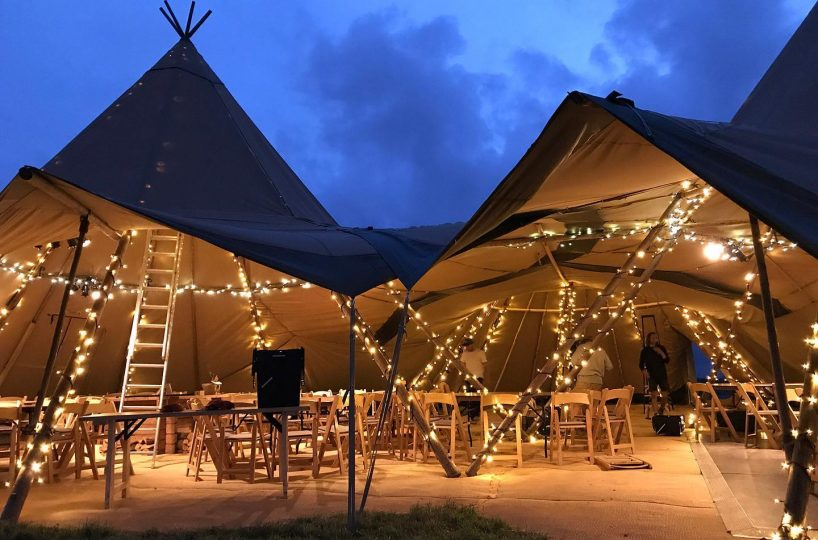 Marquee, Tent & Tipi Hire Business Located in Scorrier
