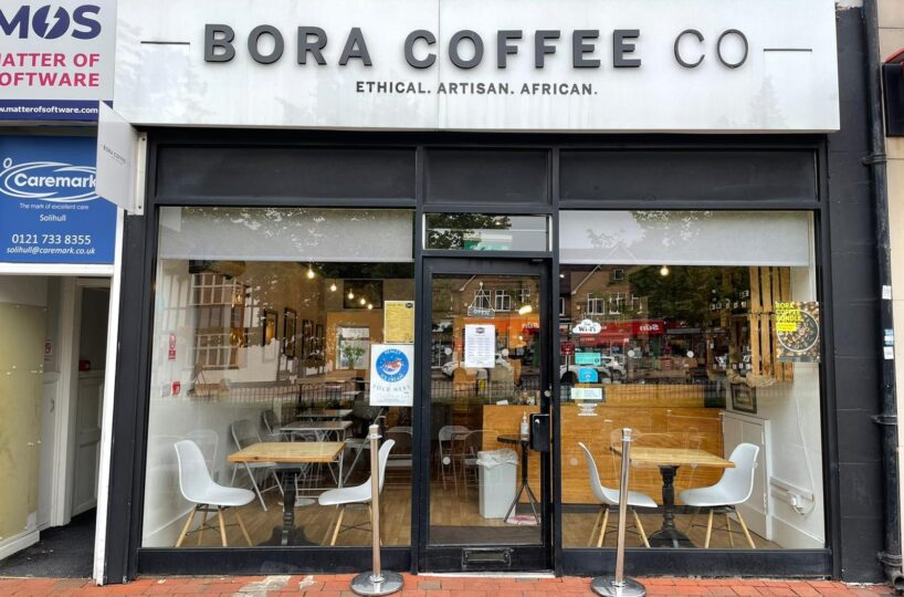 Leasehold Independent Coffee Shop Located In Shirley