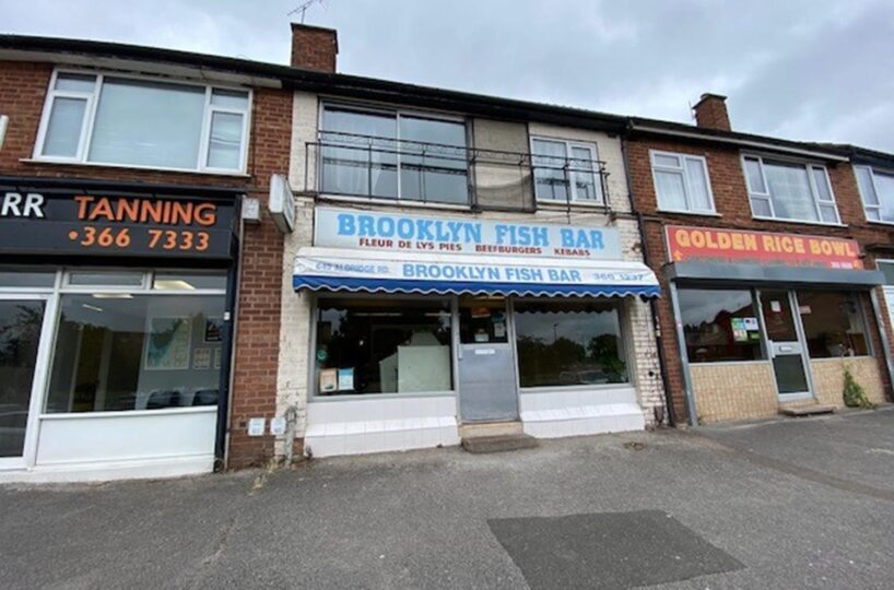 Leasehold Fish & Chip Takeaway Located In Great Barr