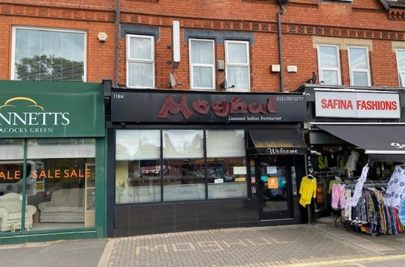 Freehold Restaurant Located In Acocks Green