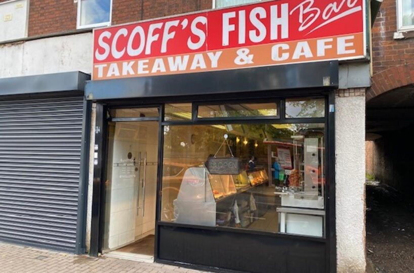 Leasehold Fish & Chip Restaurant & Takeaway Located In Bloxwich