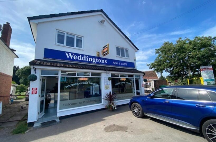 Leasehold Fish & Chip Takeaway Located In Nuneaton