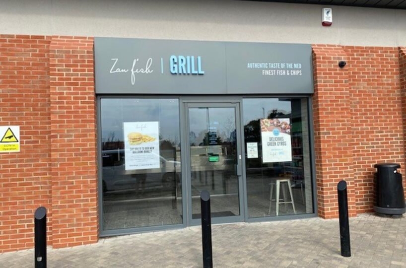 Leasehold Fish & Chip Takeaway & Mediterranean Grill Located In Derby
