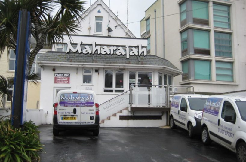 Freehold Indian Restaurant Located In Newquay