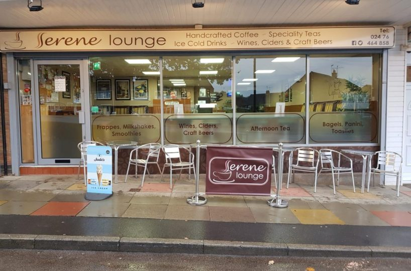 Independent Coffee Shop/Cafe Located In Coventry