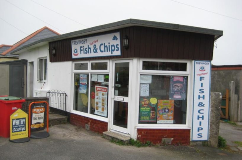 Freehold Traditional Fish and Chip Takeaway Located In Redruth