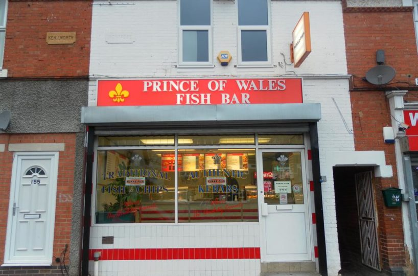 Freehold Traditional Fish and Chip Shop In Warstock Birmingham