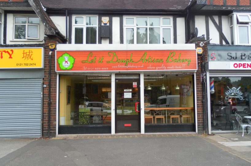 Leasehold Bakery and Coffee Shop Located In Hall Green