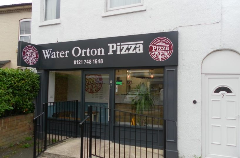 Leasehold Pizza Takeaway Located In Water Orton