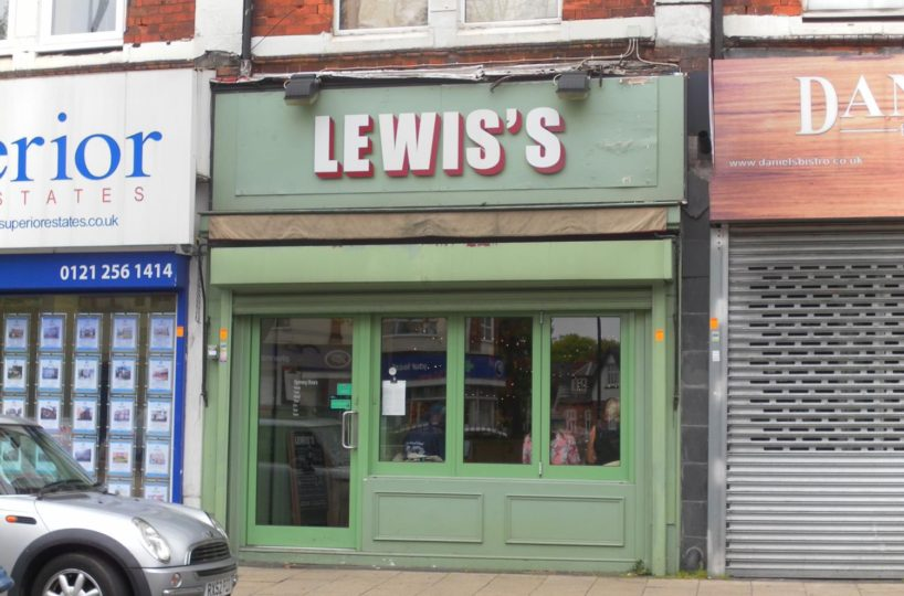 Cafe/Restaurant Lease Located In Moseley Village