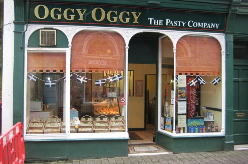 2 Pasty/Coffee Shops In Falmouth