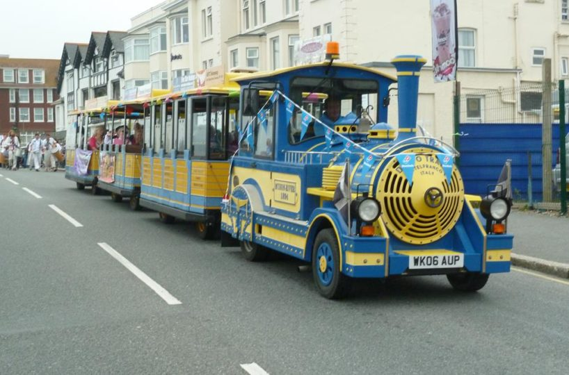 Licenced Tourist Train Located In Newquay