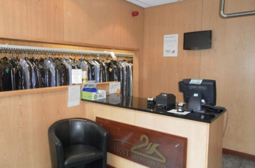 Freehold Dry Cleaners, Laundry and Ironing Services and Alterations Business Located In The Solihull Area