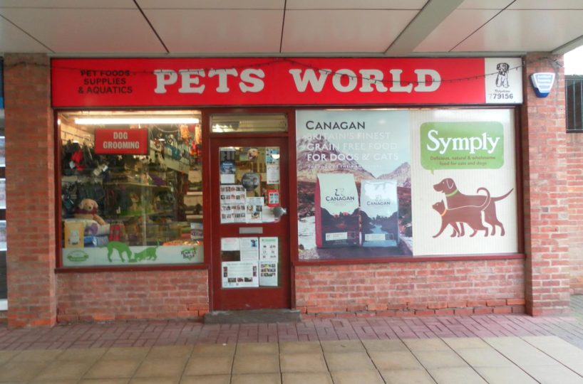 Leasehold Pet Shop/Pet Food Supplies and Dog Grooming Parlour Located In The Solihull Area