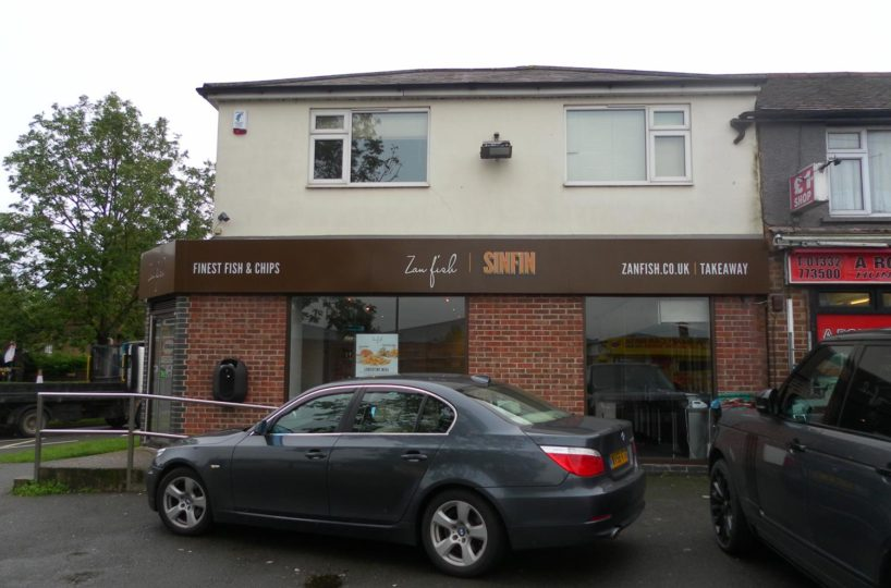 Leasehold Fish and Chip Takeaway Located In Derby