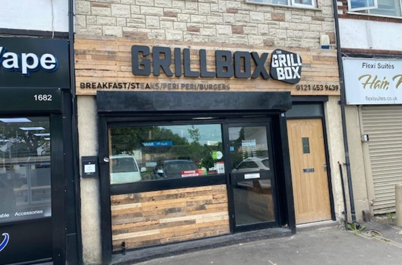 Leasehold Burger & Pizza Takeaway Located In Rednal